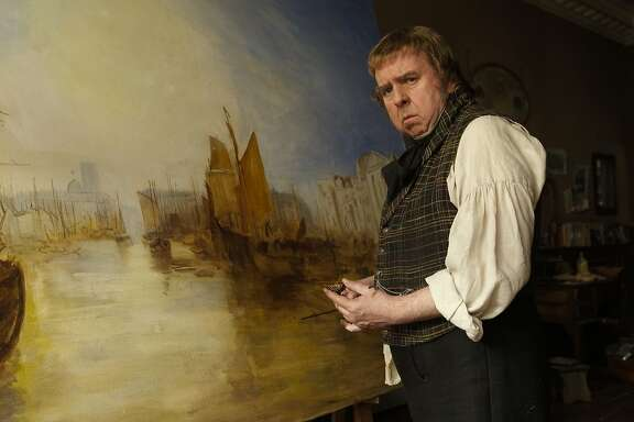"""In this image released by Sony Pictures Classics, Timothy Spall appears in a scene from """"Mr. Turner."""" (AP Photo/Sony Pictures Classics)"""
