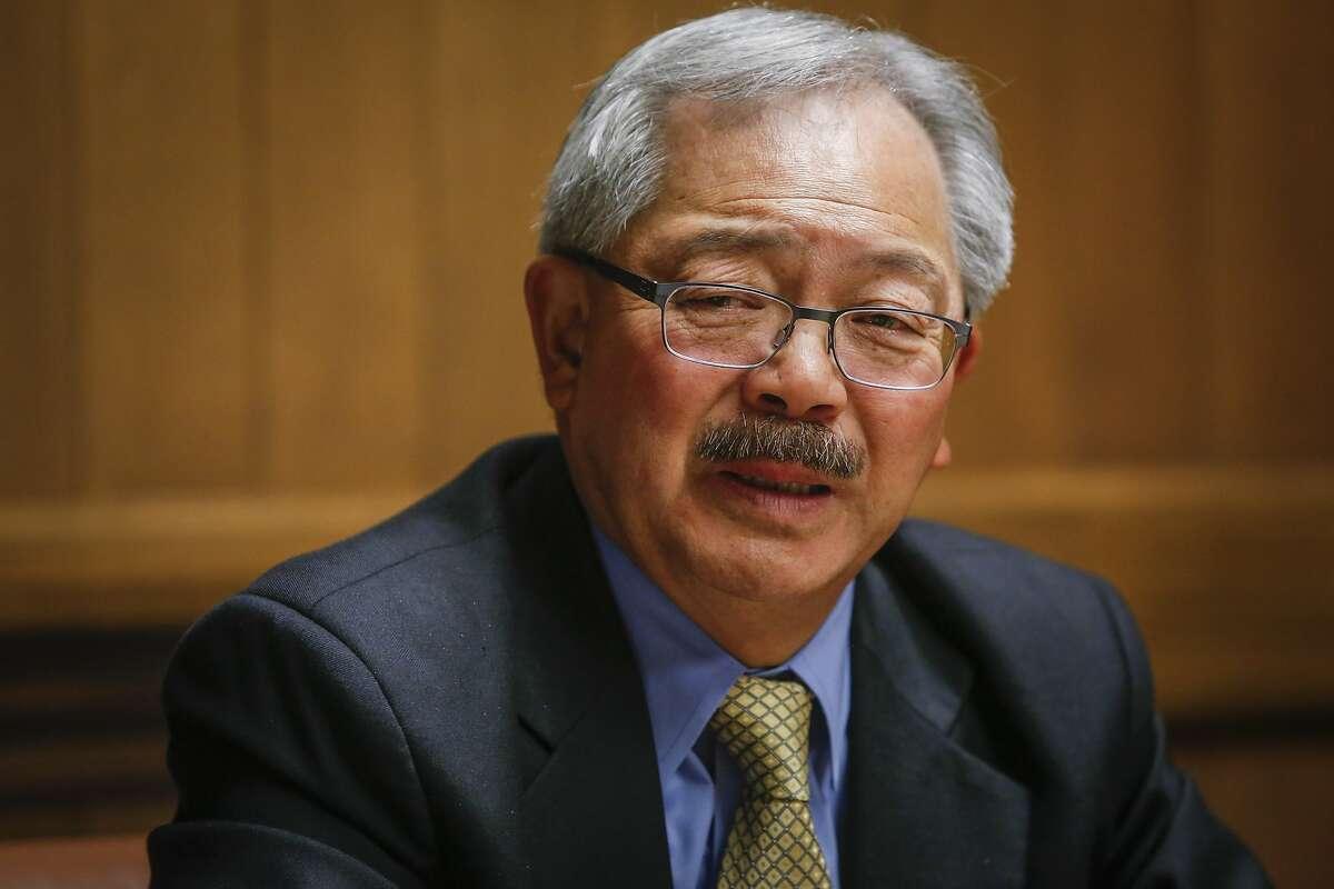 San Francisco Mayor Ed Lee.