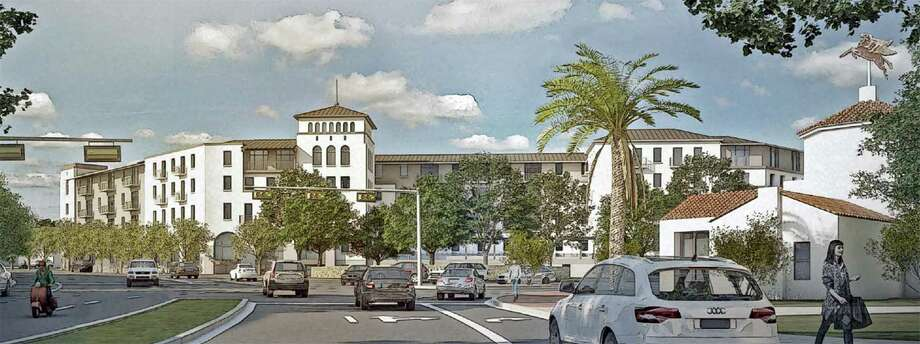 The San Antonio-based Broadway Ellwood Company has partnered with Austin-based developer Argyle Residential to develop a 1.7-acre property into 150 apartment units and some retail at Broadway and Austin Highway in Alamo Heights. Photo: Broadway Ellwood Company