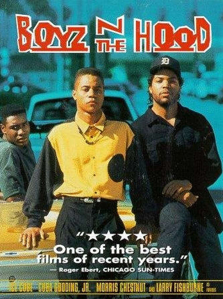 """""""Boyz N the Hood"""" – In this thoughtful drama, a South Central Los Angeles high schooler struggles to stay straight in a community polluted by drugs, violence and racism -- and his cynical but devoted father"""