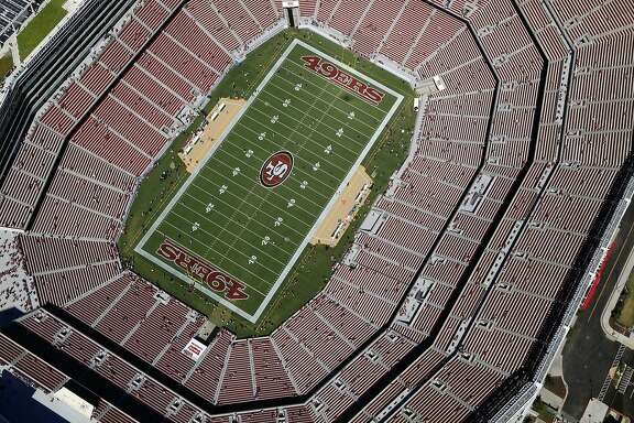 Levi's Stadium hosts the first preseason football game between the San Francisco 49ers and the Denver Broncos in Santa Clara, CA, Sunday, August 17, 2014.