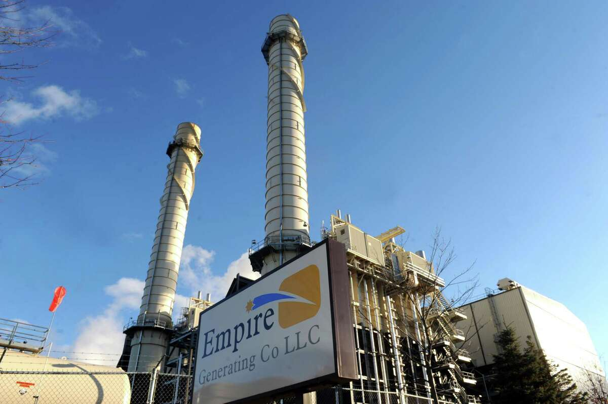 Empire Generating Co. power plant Tuesday, Dec. 30, 2014, in Rensselaer, N.Y. The property benefits from the state's brownfield credits program. Critics of the program said it has been milked as a cash cow by real estate developers, while supporters claim it has fostered development that otherwise would not have happened. (Michael P. Farrell/Times Union)