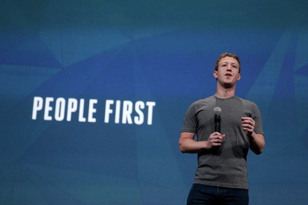 Facebook's Mark Zuckerberg: His company is being sued by AG Bob Ferguson for violating Washington's pioneering campaign finance laws.