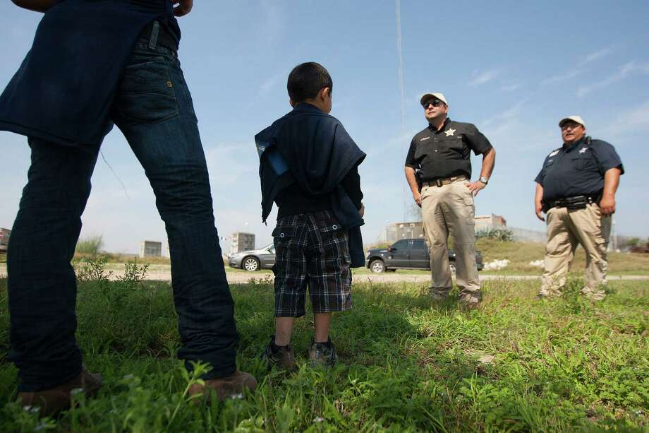 Texas saw a flood of unaccompanied children from Latin American countries trying to cross the border. Photo: Johnny Hanson, Staff / © 2014  Houston Chronicle