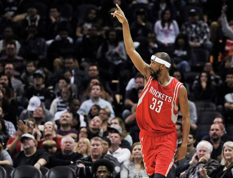 Corey Brewer, above, is starting to get more comfortable in a Rockets uniform, and the same will soon be the case for fellow newcomer Josh Smith. Photo: Darren Abate, FRE / FR115 AP