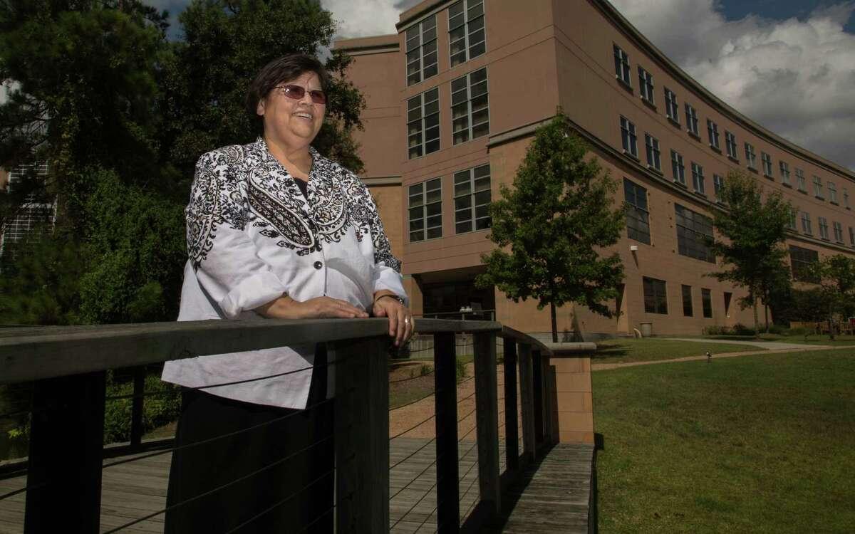 Sister Norma Guiterrez, hospital chaplain at CHI St. Luke's Health in The Woodlands, Tx Thursday September 4, 2014. (Billy Smith II / Chronicle)