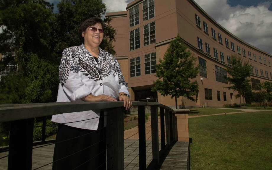 Sister Norma Guiterrez, hospital chaplain at CHI St. Luke's Health in The Woodlands, Tx Thursday September 4, 2014. (Billy Smith II / Chronicle) Photo: Billy Smith II, Staff / © 2014 Houston Chronicle