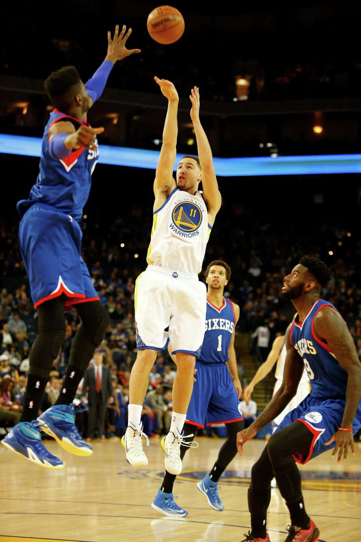 Warriors guard Klay Thompson, in his fourth NBA campaign, is having the best shooting season of his career. But his all-around game is what is wowing former All-Stars and NBA insiders.