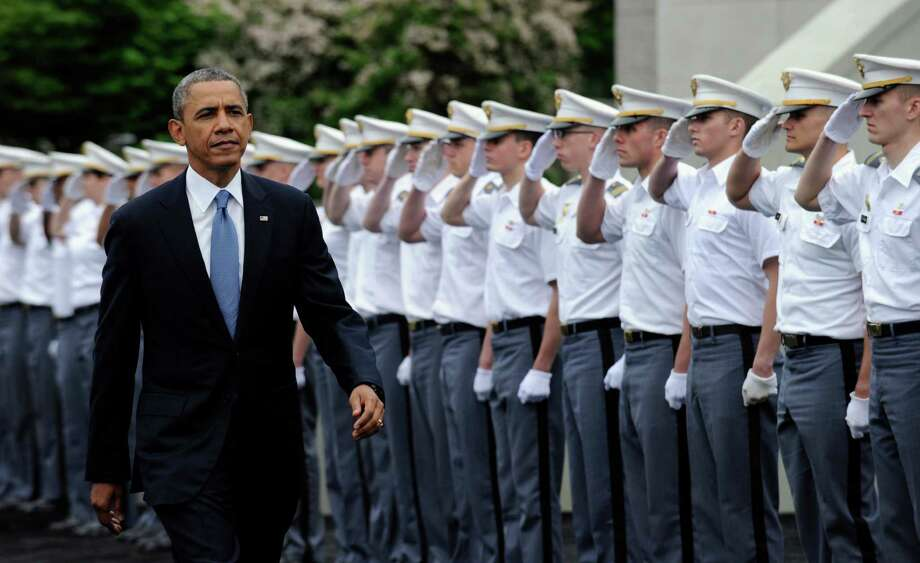 President Barack Obama told cadets this year that they might not go to Iraq or Afghanistan. Photo: Associated Press /File Photo / AP