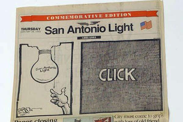 San Antonio Light cover