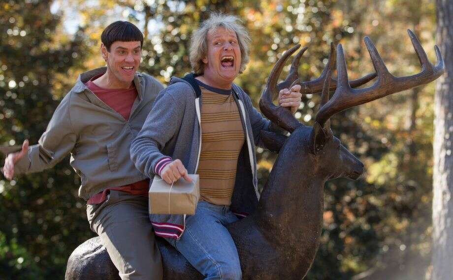 "1. ""Dumb and Dumber To"":  What has happened to the Farrelly Brothers? It's as if the Comedy Fairy returned after 10 years to take back the jokes. In this sequel to the original (and very funny) ""Dumb and Dumber,"" you could actually feel the flop sweat on Jim Carrey and Jeff Daniel as they flogged material for what turned out to be silent movie audiences.  This was bad for Daniels, but even worse for Carrey, who is a comic actor and is supposed to know the difference between funny and painful. Sure, his film career will recover, just as someone might recover from hitting himself in the face with a hammer.  The trick is not doing that in the first place."