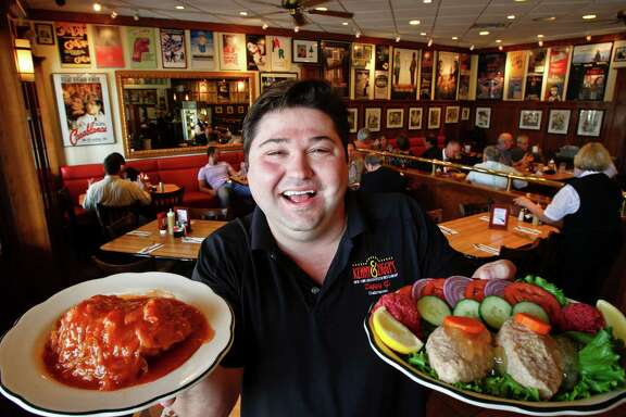 """Ziggy Gruber, owner of Kenny & Ziggy's Deli, is described as being the star and heart of the documentary """"Deli Man."""""""