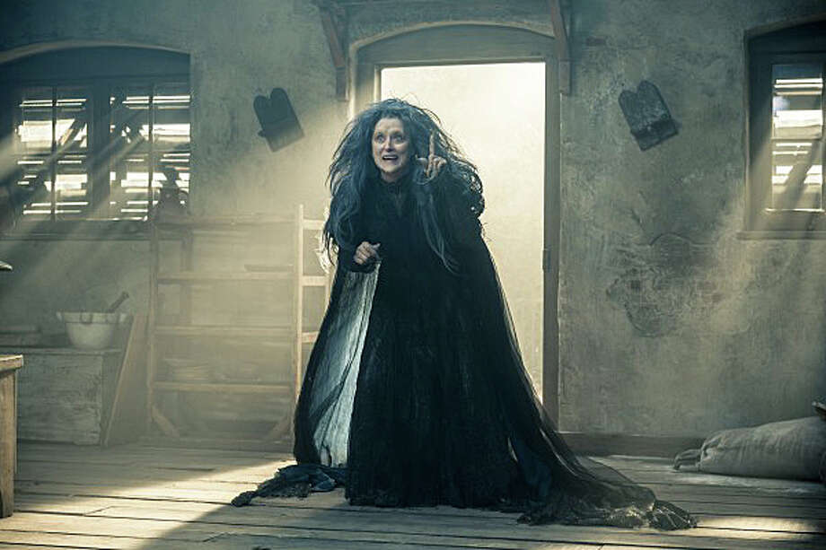 "Meryl Streep portrays the Witch in new movie musical ""Into the Woods."" Photo: Contributed Photo / Westport News"