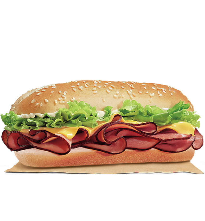 Burger King's Yumbo Hot Ham & Cheese Sandwich Photo: --