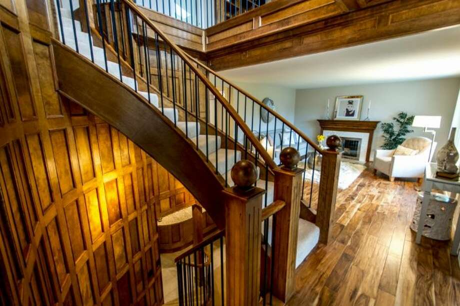 Staircase of 3225 N.W. 56th St. Photo: Courtesy Jennifer Reyer/Windermere Real Estate