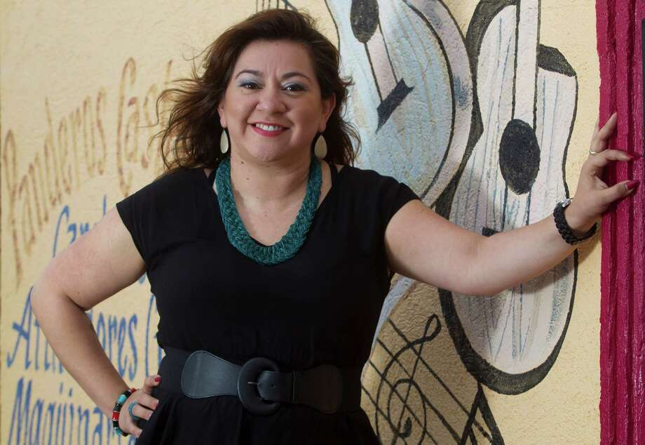 Gracie Chavez poses for a portrait outside Memo's Record Shop on Tuesday, Dec. 23, 2014, in Houston. ( J. Patric Schneider / For the Chronicle ) Photo: J. Patric Schneider, Freelance / © 2014 Houston Chronicle