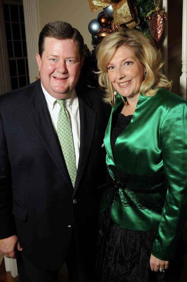 Hosts Jeff and Kathryn Smith Photo: Dave Rossman, Freelance / © 2014 Dave Rossman