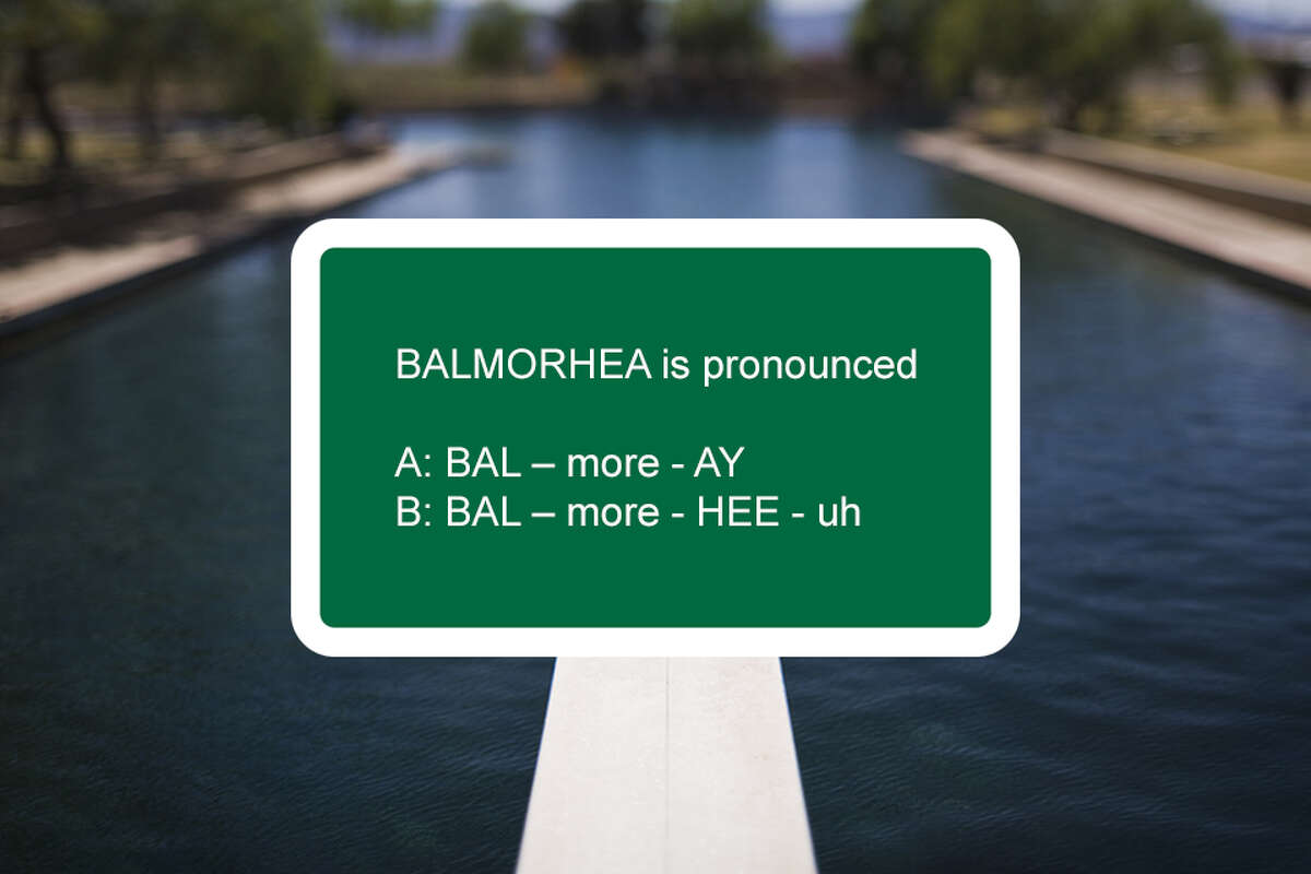 """""""Balmorhea"""" is a blend of Balcom, Morrow and Rhea -- the three land developers who established the town."""