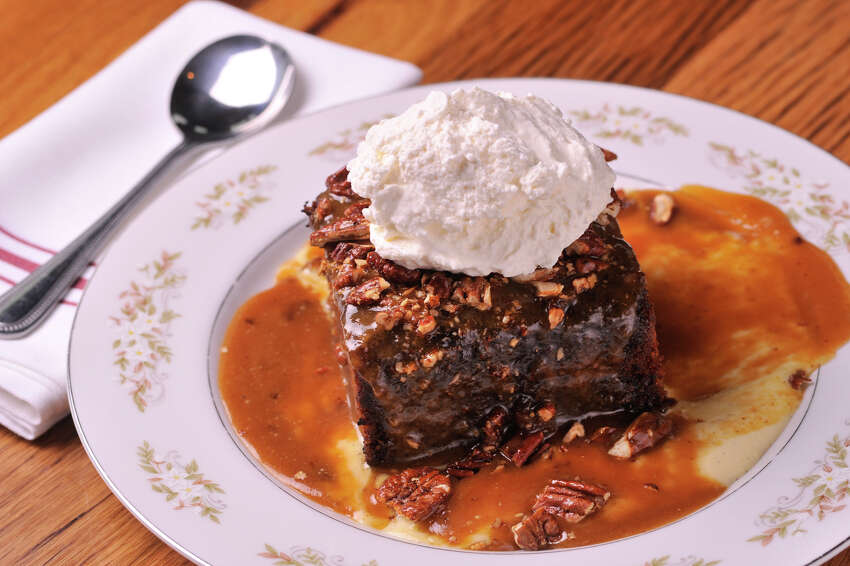 Whiskey Cake | 15900 La Cantera Parkway,(210) 236-8095 Dive into southern classics dialed up a notch, like jalapeño biscuits and gravy or whiskey braised short rib hash and pair with a tropical cocktail, like the Guava Gimlet at Whiskey Cake. You can treat your mama to their stick-to-the-ribs brunch menu Saturday or Sunday, from 10 a.m. to 3 p.m.