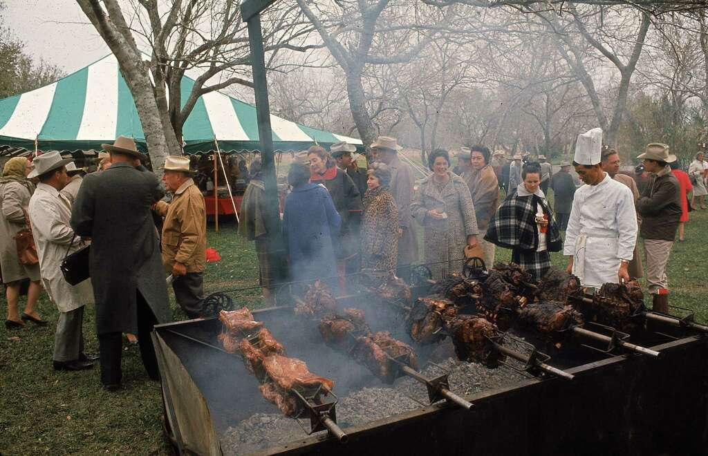 Cook outdoorsEven if it's cold outside, there's no stopping us from smoking and grilling some good eats. Photo: Ralph Crane, Getty Images / Time & Life Pictures
