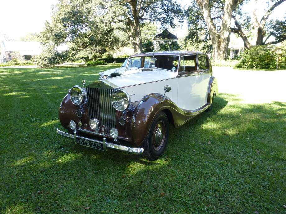 Richard Branyan inherited this 1949 Rolls-Royce Silver Wraith from his father in 2002. It's an original classic in mint condition with an all-walnut dashboard. Everything inside is original, save two seat covers. The odometer reads 30,000 miles.