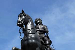 7. The statue of King Charles I at Charing Cross, just south of Trafalgar Square in London, has special meaning for motorists in Britain. Why?