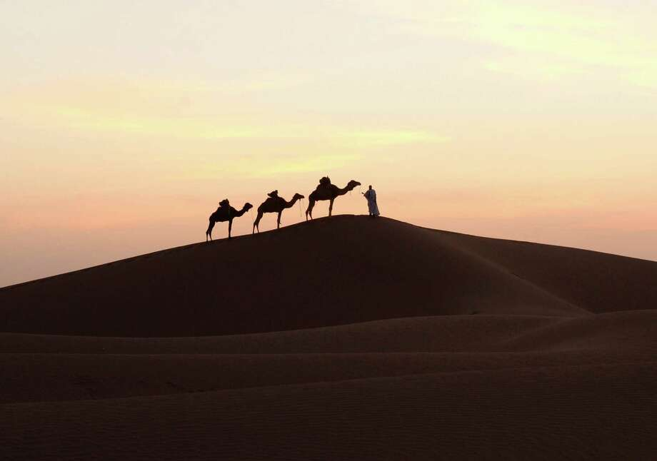 """6. What does the word """"sahara"""" mean in Arabic? Photo: FADEL SENNA, Stringer / AFP"""