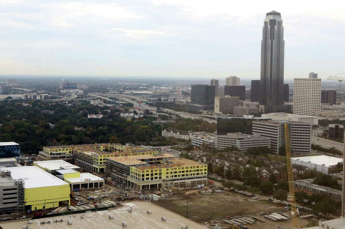 Residential units are under construction in the River Oaks District. Across the Houston region, more than 33,500 apartments are being built, and 23,420 of them are expected to be completed this year. That's nearly double what was brought online in 2014.