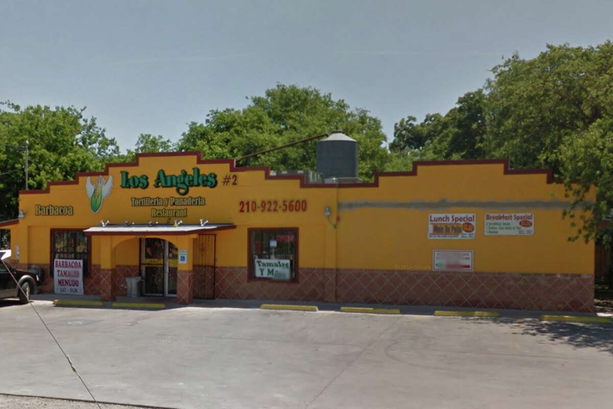 Los Angeles Tortilleria #2: 3106 COMMERCIAL AVE San Antonio , TX 78221 Date: 12/22/2014 Demerits: 16 8 229.163 (n) (1) eat.drink.smoke.. Employees must drink from clean closed beverage containers with cleans hands and away from food prep areas. 11 12 229.164 (f) (2) (A) (iv) not covered. 13 229.164 (o) (7) (A) consume by date (prepared). Date mark refrigerated, ready-to-eat food that is frequently unwrapped or dispensed using an acceptable method.