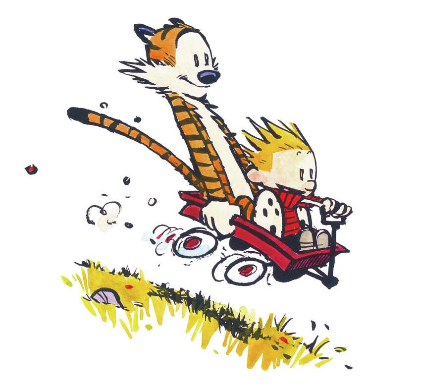 'Calvin and Hobbes' Bill Watterson's comic strip debuted in 35 newspapers across the country.