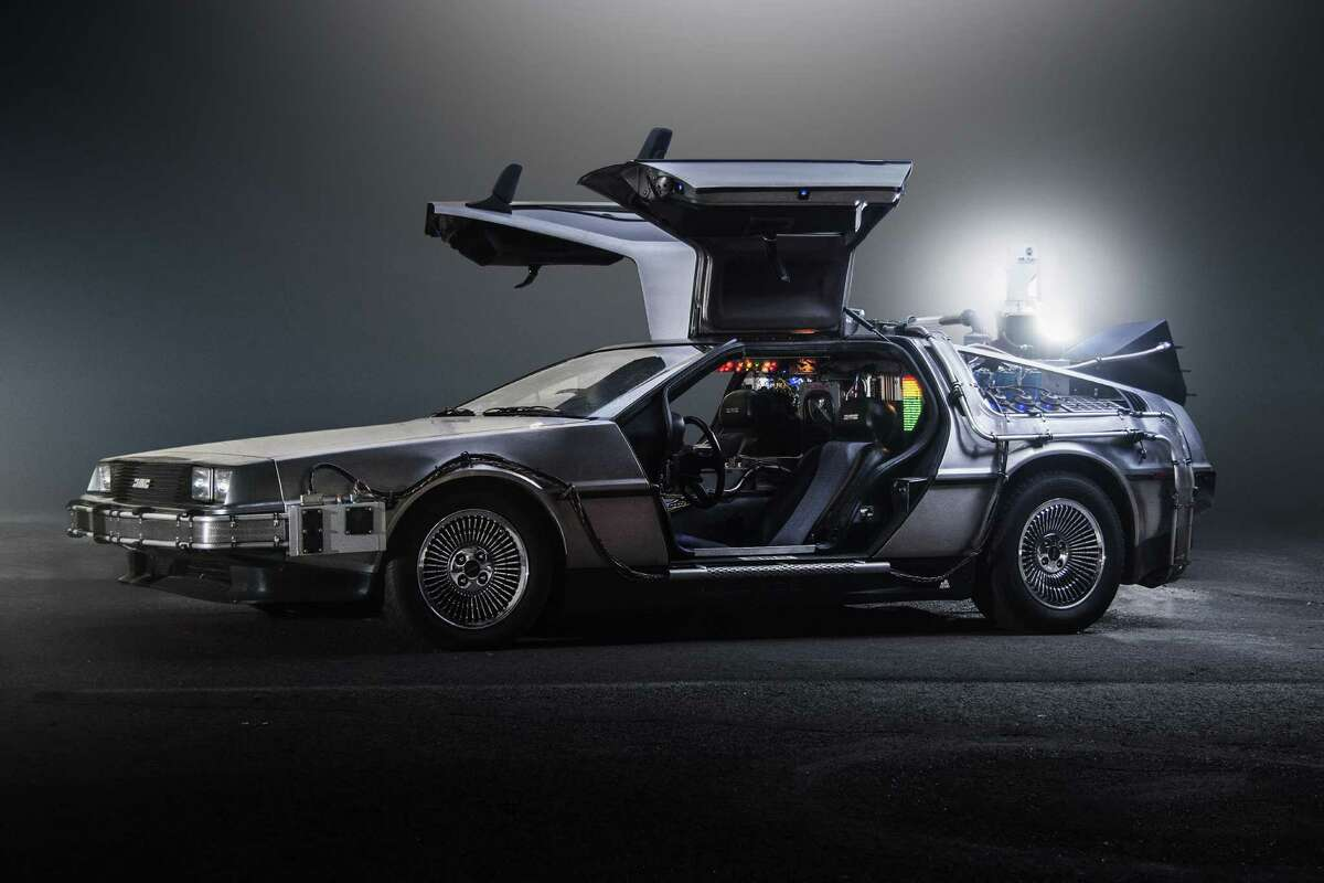 The DeLorean time machine Dr. Emmet Brown built a flux capacitator-activated time machine from a DeLorean DMC-12. This plot device drove the highest grossing film of 1985, 'Back to the Future.'