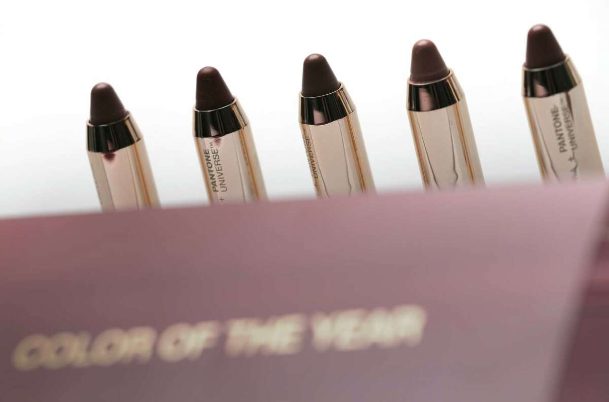 Sephora cosmetics Marsala Layering Lip Collection based on Pantone's Color of the Year.