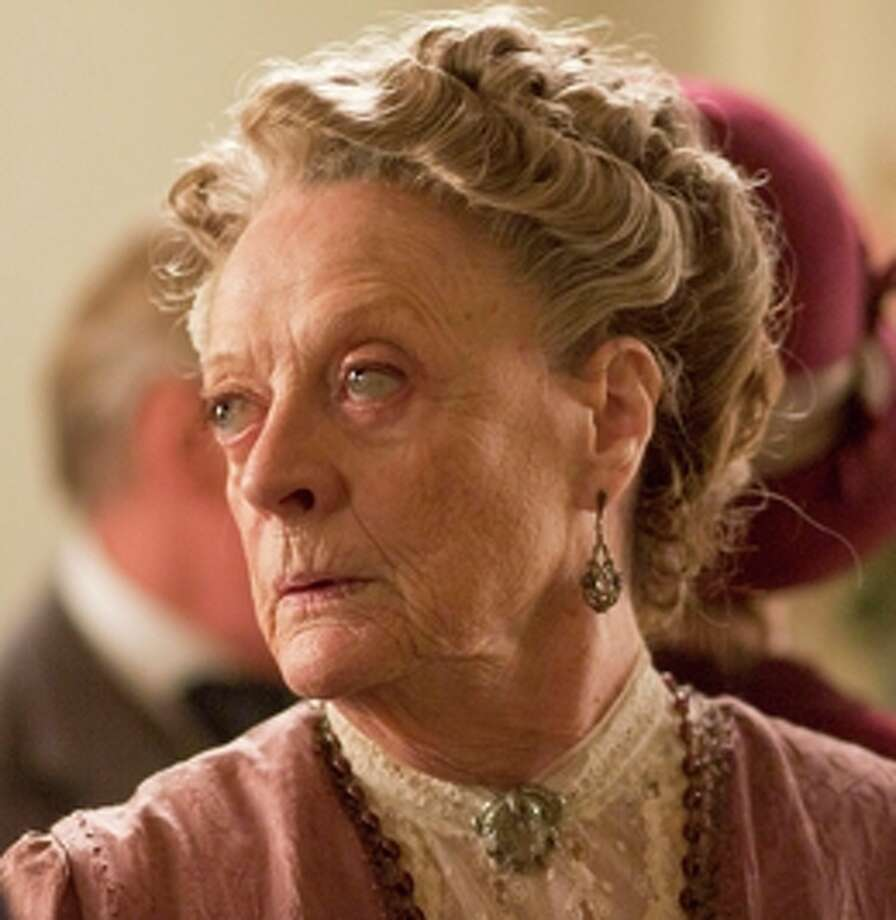 """Maggie Smith appears in """"Downton Abbey."""" Photo: PBS / PBS / ONLINE_YES"""