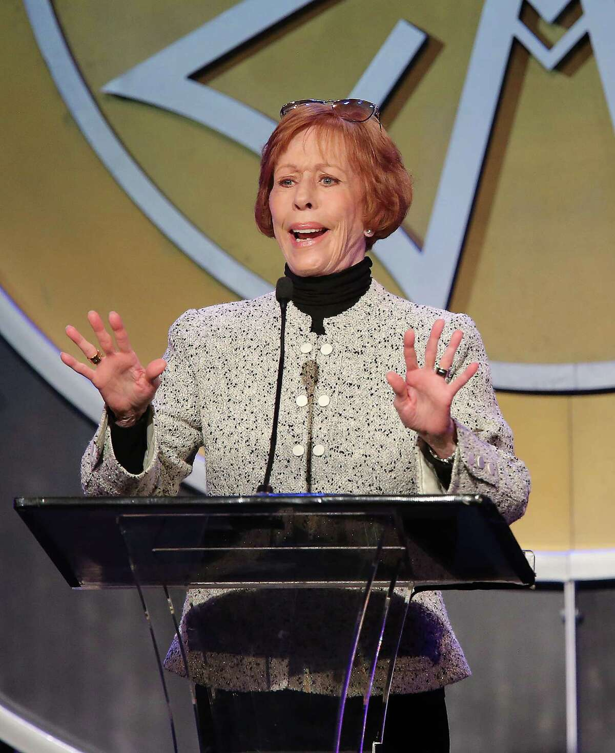 Carol Burnett will be honored in 2016 with a Texas Film Award by the Austin Film Society.