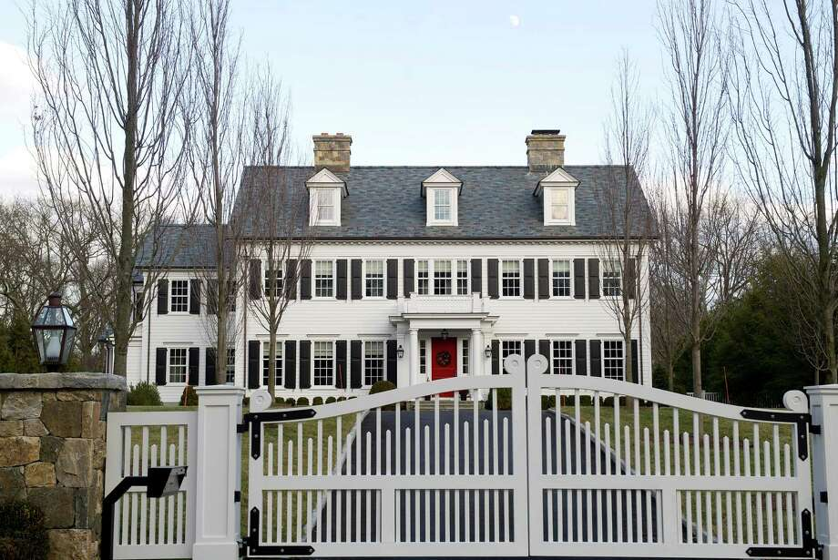 751 Lake Avenue in Greenwich, Conn., on Wednesday, December 31, 2014, which was one of 14 homes sold on the street in 2014. Lake Avenue saw more single-family home sales than any other Greenwich road in 2014. Photo: Lindsay Perry / Stamford Advocate