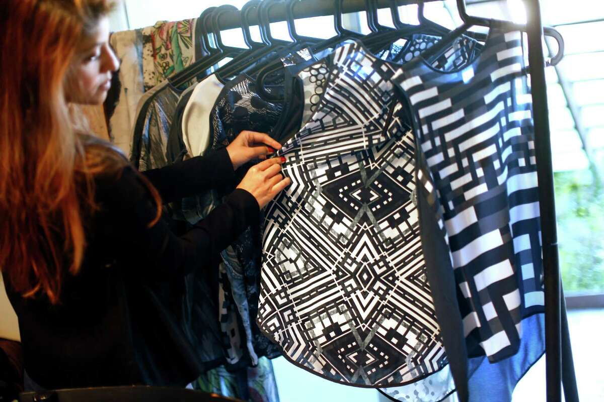 Umaimah Mendhro, founder and CEO of Vida, prints the work of artists from around the world onto clothing. Mendhro, formerly of Microsoft, launched her e-commerce site to showcase artists' designs.