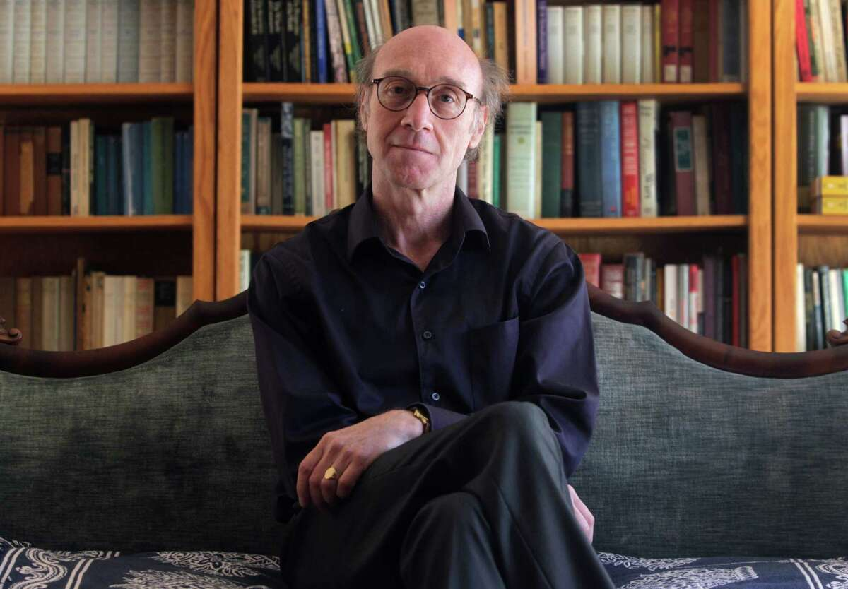 Professor Joan Ramon Resina, shown in his Stanford home, says his efforts to promote Catalonian literature were met with resistance in other part of the nation.