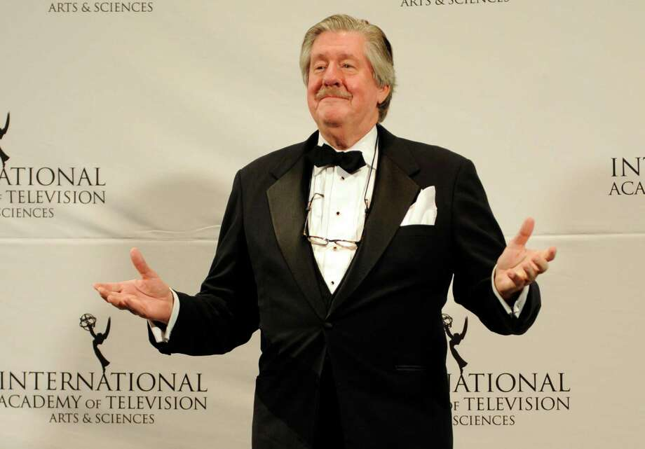 """FILE -- This Nov. 21, 2011 file photo shows, Edward Herrmann after presenting an award at the 39th International Emmy Awards, in New York.  The son of Edward Herrmann says the """"Gilmore Girls"""" star and Tony Award-winner has died. Rory Herrmann said that his father died Wednesday, Dec. 31, 2014, in a New York City hospital where he was being treated for brain cancer. Edward He was 71. (AP Photo/Henny Ray Abrams, File) Photo: Henny Ray Abrams, FRE / AP"""