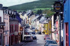 Dingle town says it has more pubs per capita than any other town in Ireland.
