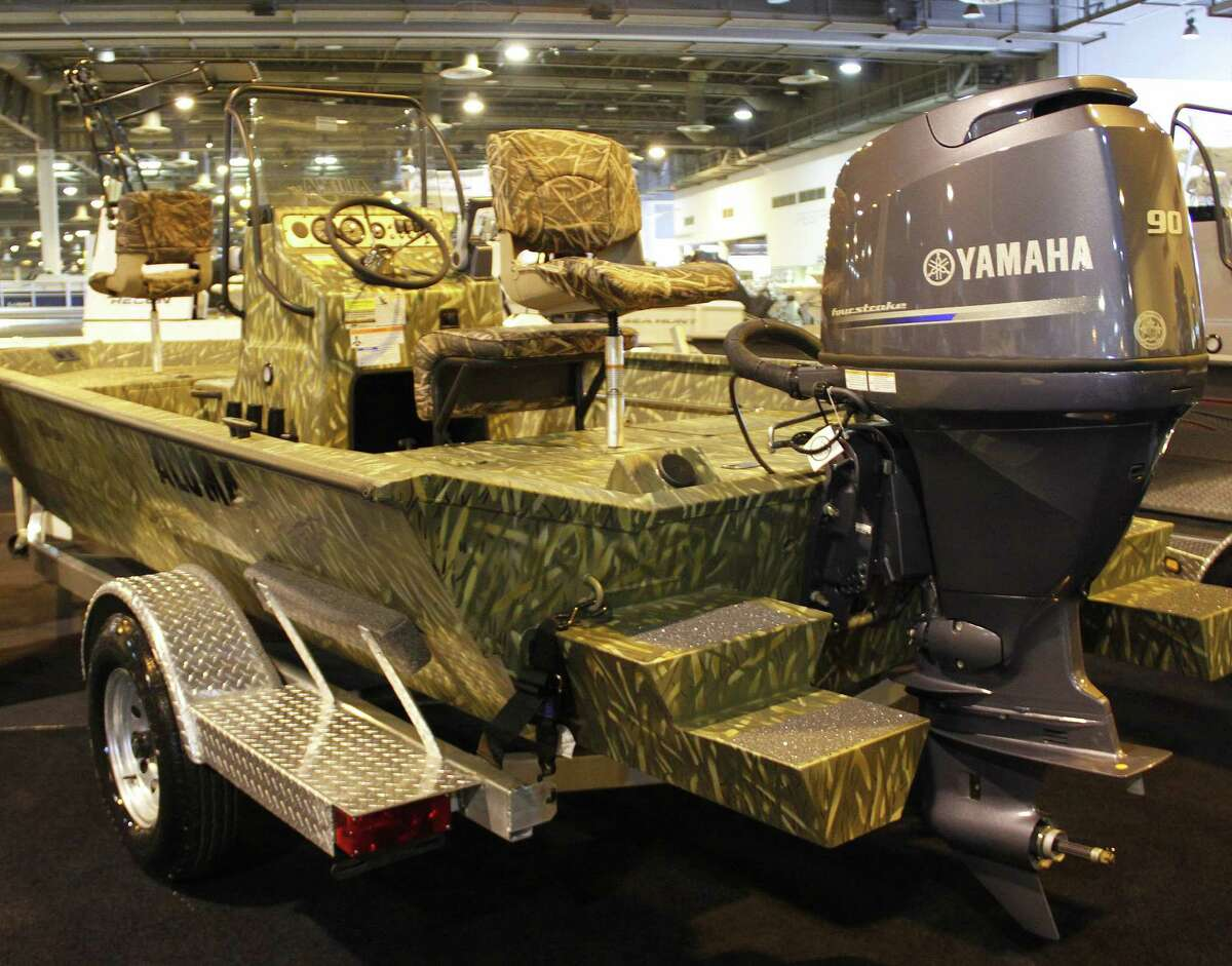 """Today's aluminum-hulled recreational boats, far cries from the small, stripped-down, basic """"johnboats"""" of a generation ago, illustrate changes and improvements that have swept the marine industry over the 60-year history of the Houston Boat Show, which runs from Friday through Jan. 11 at NRG Center."""