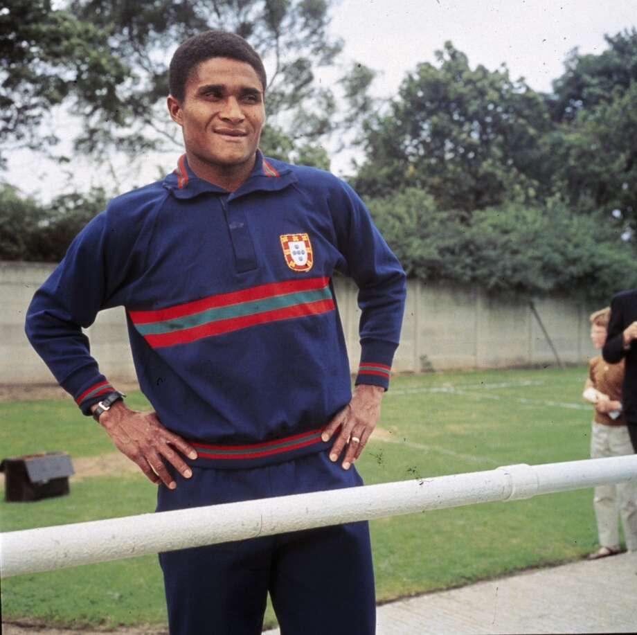 Jan. 5 — Eusebio, 71Portuguese soccer star who was born into poverty in Africa but became an international sporting icon. Eusebio became affectionately known as the Black Panther for his athletic prowess and clinical finishing that made him one of the world's top scorers during his heyday in the 1960s for Benfica and the Portuguese national team. Photo: Keystone, Getty Images