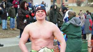 Were you Seen kicking off the new year at the annual Polar Plunge in Lake George on Thursday, Jan. 1 2015?