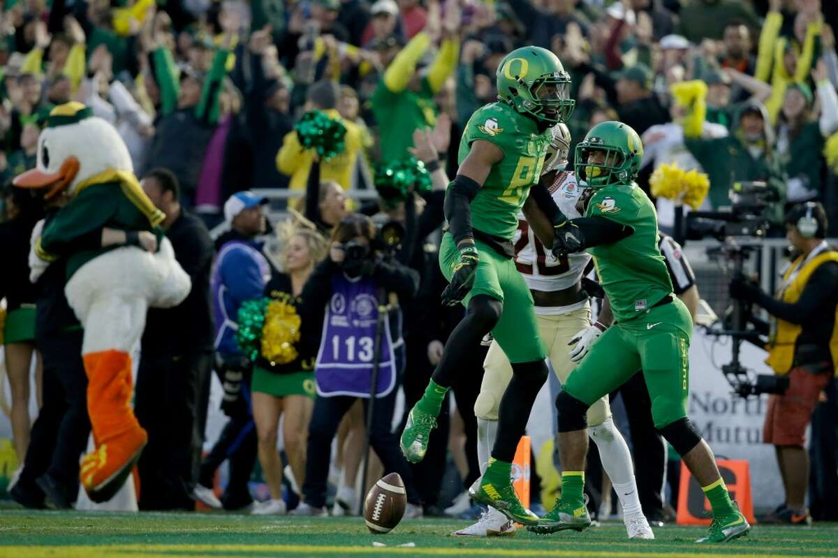 24.Oregon This week: vs. Cal-Davis, 4 p.m. Saturday (Pac 12 Network) Anyone know what uniform the Ducks are going to wear Saturday? Of course not. Like tuning in to the Rockets' pregame show just to see what Calvin Murphy will be wearing, we will check out a few seconds of Saturday's game against mighty Cal-Davis just so we can peep Oregon's swag. Then, we'll turn the channel immediately because Oregon should never schedule Cal-Davis.