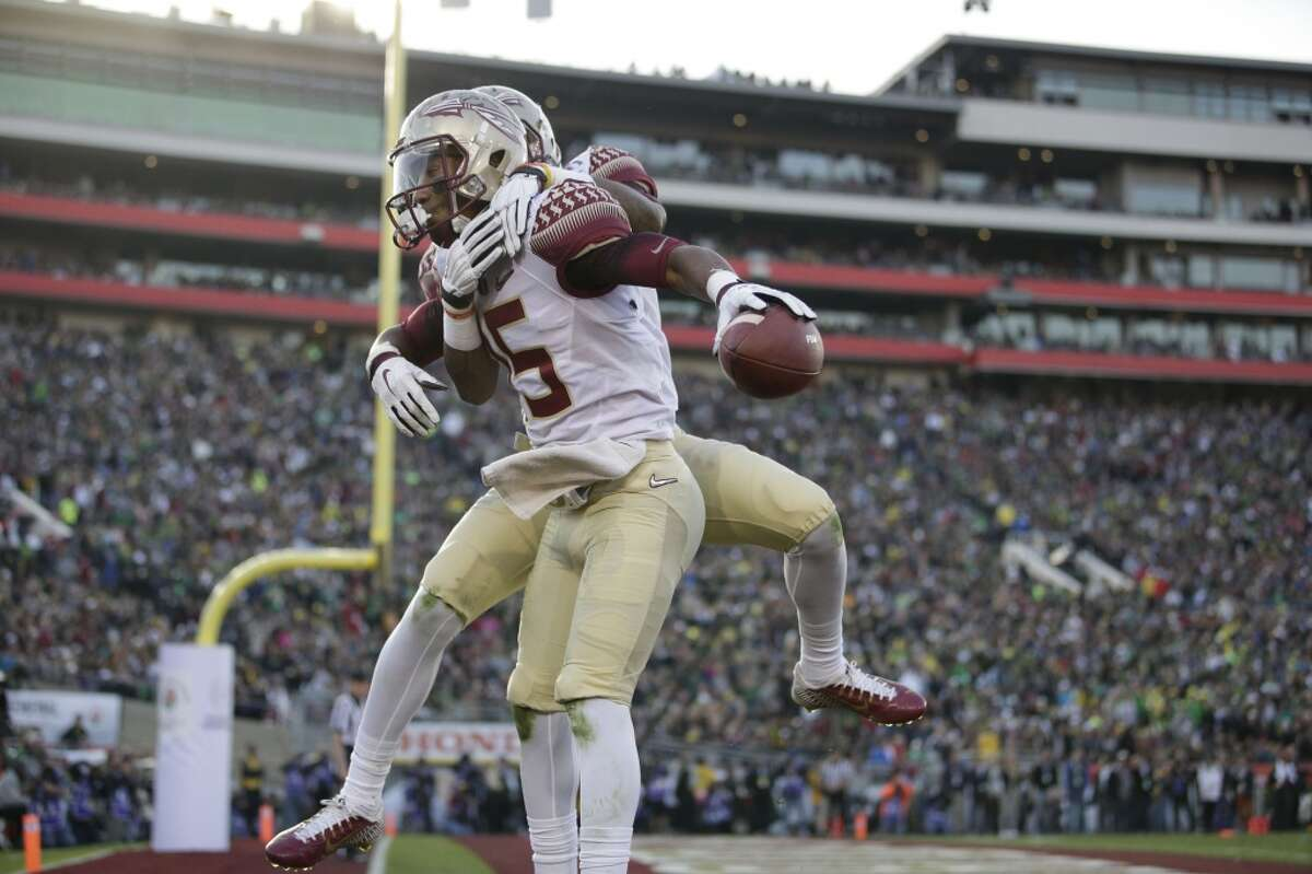 Receivers/tight ends When they pass, the Seminoles like to spread the ball around with three receivers - Kermit Whitfield, Travis Rudolph and Bobo Wilson - with at least 50 catches. UH's Demarcus Ayers had a breakout season with 89 catches and more than 1,100 yards while Oregon transfer Chance Allen has filled in nicely at the No. 2 spot. Steven Dunbar and Linell Bonner had touchdown catches in big wins over Louisville, Memphis and Navy. Edge: Florida State