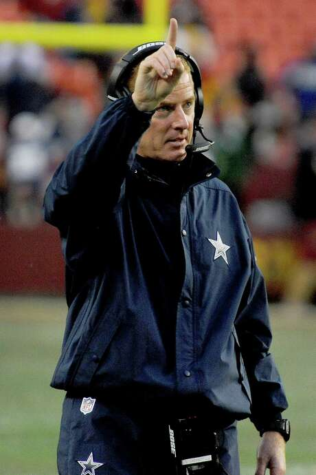 Many observers believe Jason Garrett has done his No. 1 job as coach of the Cowboys this season, when his team was projected to be among the league's worst but went 12-4 and won the NFC East. Photo: Richard Lipski, FRE / FR170623 AP