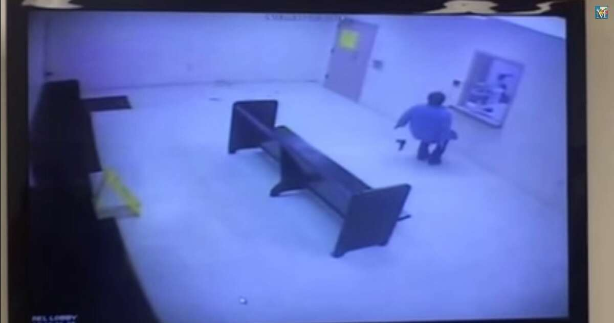 Deputies for the Hidalgo County Sheriff's Office used a stun gun on a 53-year-old woman who walked into the Hidalgo County Jail brandishing a BB gun and asking them to kill her. Surveillance video obtained by the McAllen Monitor and posted to YouTube shows Marisela Martinez Zamora walking into the jail's public area, throwing $93 she allegedly stole from a nearby bail bonds business and attempting to flip over a bench.