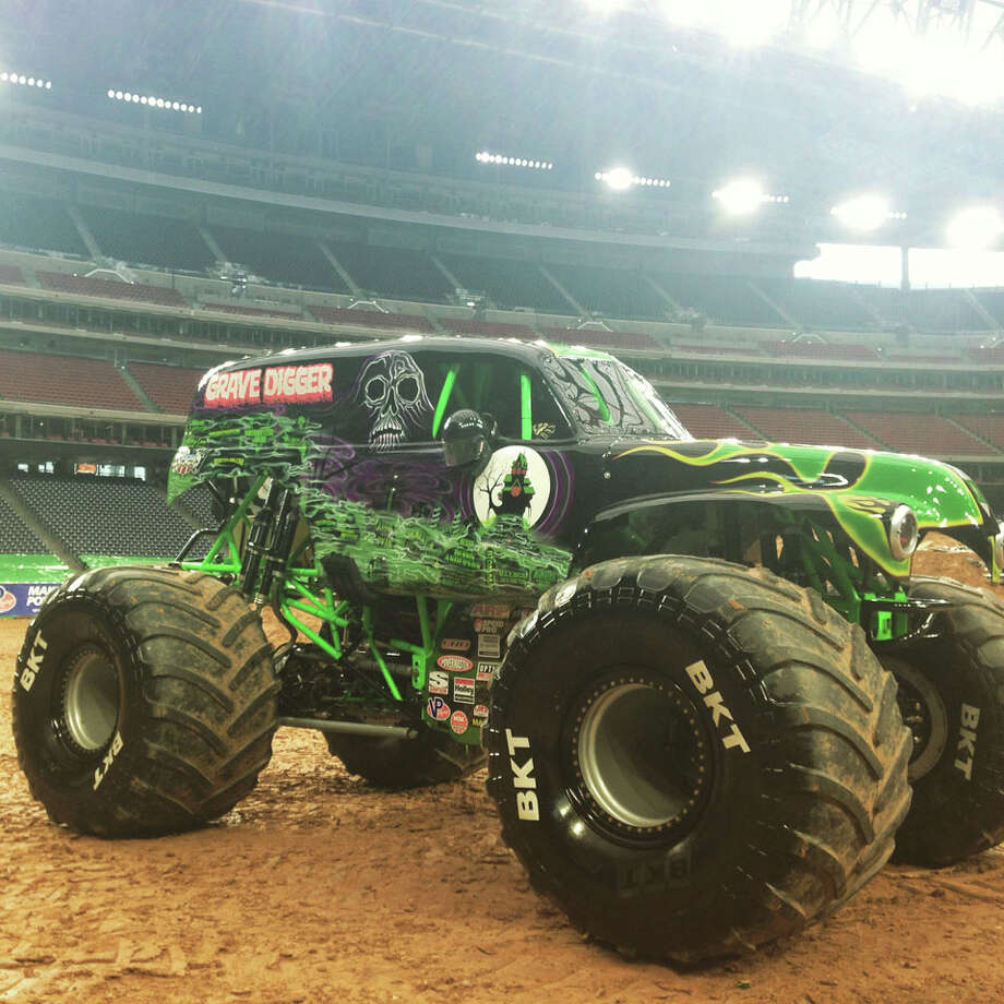 Monster Jam comes to Houston's NRG Stadium on Jan. 3, 2015 and every other weekend until January 31.  Tickets start at $10 for kids age 2-12 and $22 for adults.  Photo: Craig Hlavaty | Houston Chronicle