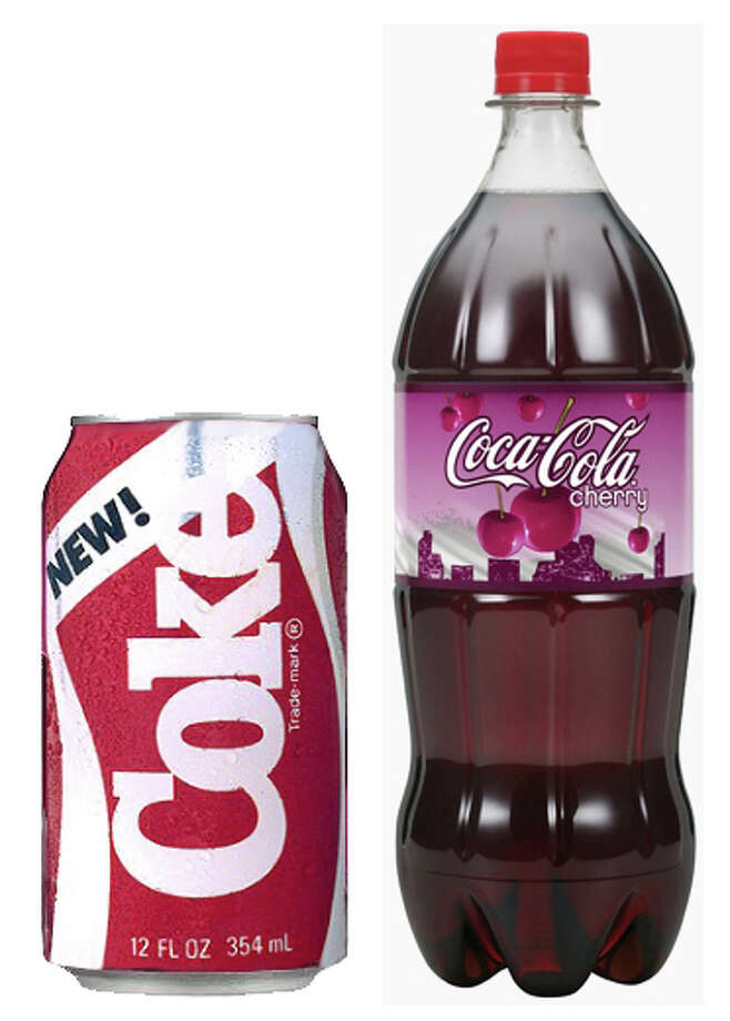 New Coke and Cherry Coke. Photo: Getty Images