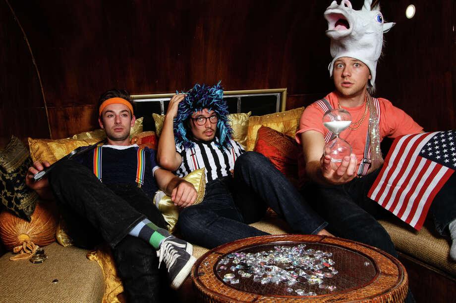 Cameron Mark Lewis, Matt Grandy and Andy Strong of the Damn Fanatics. Photo: David Herschorn / David Herschorn / ONLINE_YES