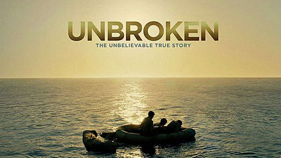 """Unbroken"" is the new movie based on the life of Olympian and World War II hero Louis Zamperini. Photo: Contributed Photo / Westport News"